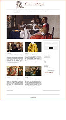 Neu . Costume Antique Blog